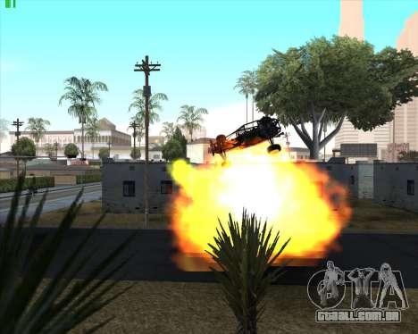 Insanidade, no estado de San Andreas v1.0 para GTA San Andreas décimo tela