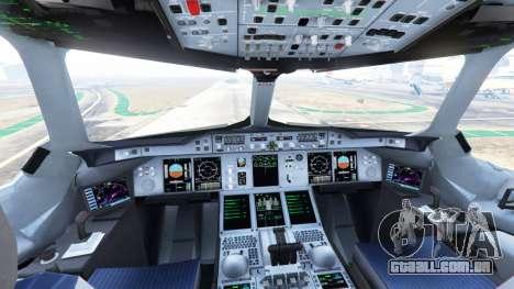 GTA 5 Airbus A380-800 quinta imagem de tela