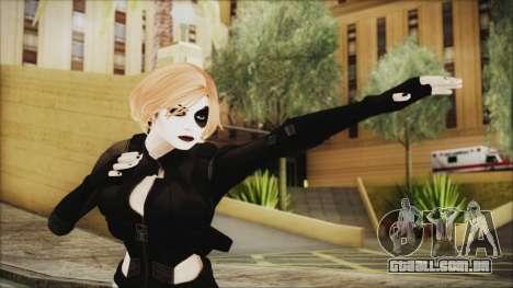 Blonde Domino from Deadpool para GTA San Andreas