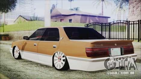 Toyota Crown VIP para GTA San Andreas esquerda vista