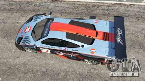 GTA 5 McLaren F1 GTR Longtail [Gulf] voltar vista