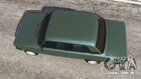 GTA 5 VAZ-2107 [Riva] v1.1 voltar vista