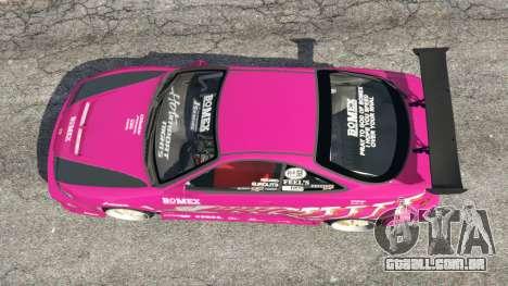 GTA 5 Honda Integra DC2 voltar vista