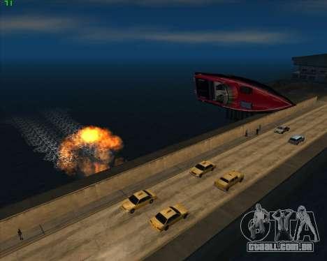 Insanidade, no estado de San Andreas v1.0 para GTA San Andreas twelth tela