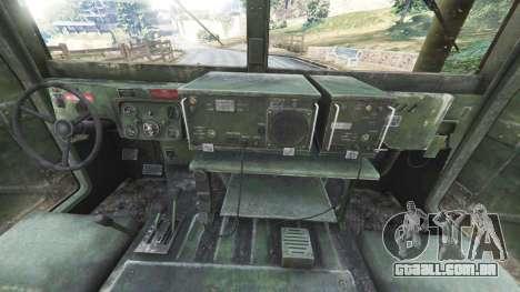 HMMWV M-1116 [woodland] para GTA 5