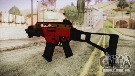 Xmas G36C para GTA San Andreas segunda tela