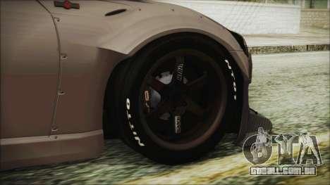 Toyota GT86 Rocket Bunny Tunable HQLM para GTA San Andreas traseira esquerda vista