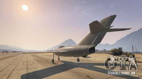 O MiG-15 para GTA 5