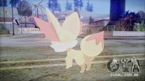 Fennekin (Pokemon XY) para GTA San Andreas segunda tela