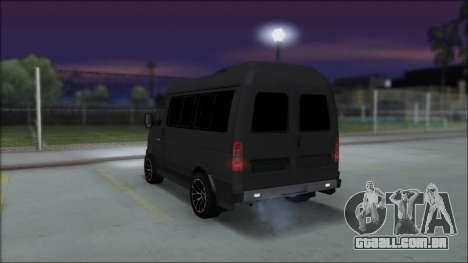 Gás 2217 Luxe para GTA San Andreas esquerda vista