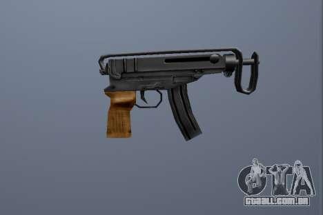 PP Escorpião para GTA San Andreas segunda tela