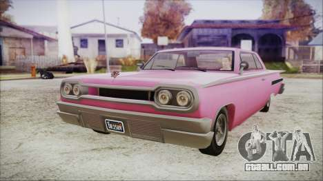 GTA 5 Declasse Clean Voodoo para GTA San Andreas
