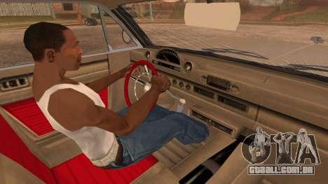 GTA 5 Declasse Clean Voodoo Bobble Version para GTA San Andreas vista direita