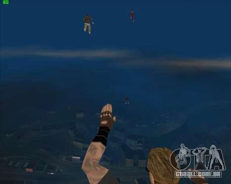 Insanidade, no estado de San Andreas v1.0 para GTA San Andreas oitavo tela