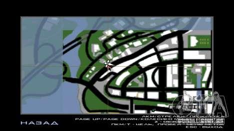 Italian bar Gangstaro in Dos Santos para GTA San Andreas sexta tela