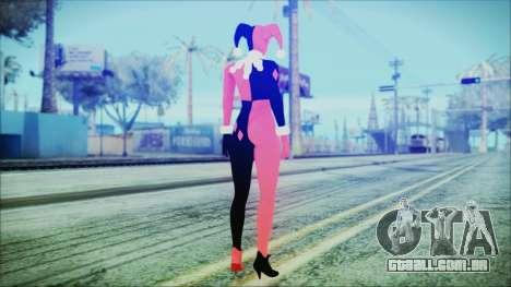 Batman Arkham Knight Harley Quinn Classic para GTA San Andreas terceira tela