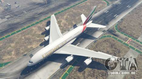 GTA 5 Airbus A380-800 quarto screenshot
