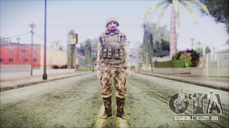 World In Conflict Generic Russian para GTA San Andreas segunda tela