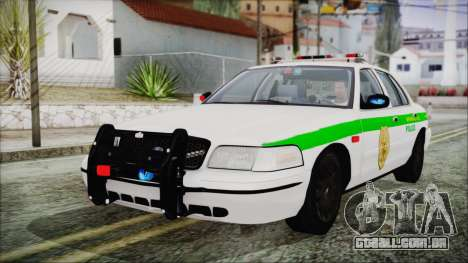 Ford Crown Victoria Miami Dade para GTA San Andreas