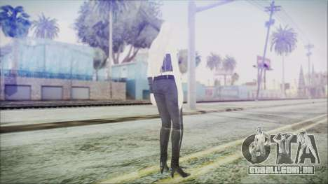 DMC4 Trish para GTA San Andreas terceira tela