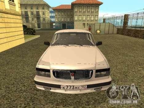 Volga GAZ 3110 para GTA San Andreas vista direita