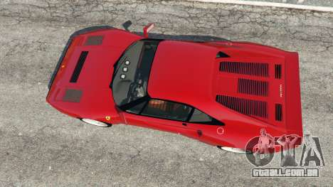 GTA 5 Ferrari 288 GTO 1984 voltar vista