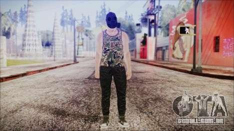 GTA Online Skin 6 para GTA San Andreas segunda tela