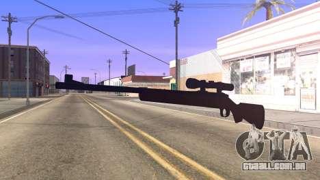 Remington 700 HD para GTA San Andreas segunda tela