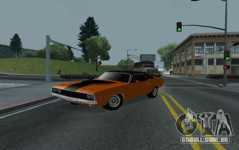 Dodge Challenger Tunable para vista lateral GTA San Andreas
