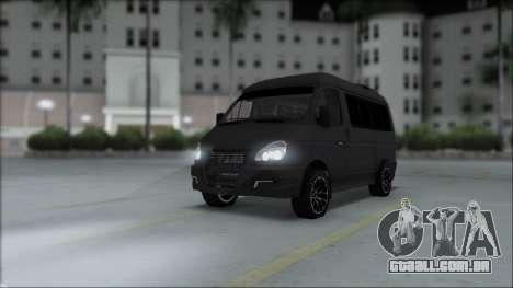 Gás 2217 Luxe para GTA San Andreas