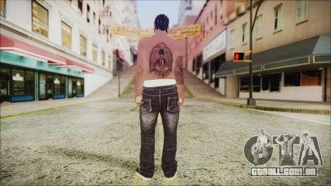 Skin GTA Online 1 para GTA San Andreas terceira tela