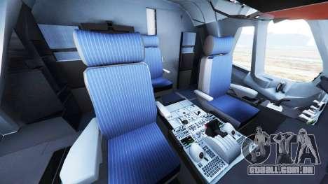 GTA 5 Airbus A380-800 sexta imagem de tela