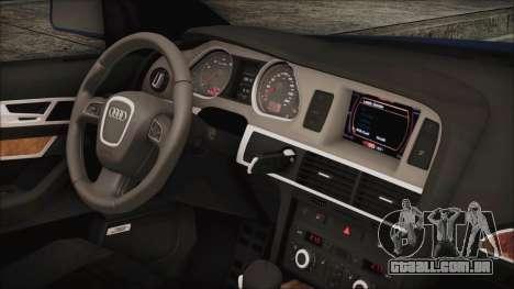 Audi A6 para GTA San Andreas vista direita