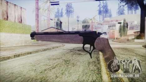 GTA 5 Marksman Pistol - Misterix 4 Weapons para GTA San Andreas segunda tela