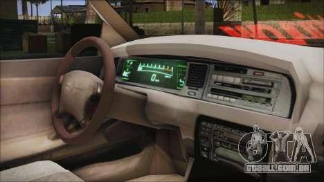 Toyota Crown VIP para GTA San Andreas vista direita