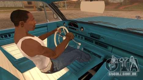 GTA 5 Declasse Clean Voodoo Bobble Version IVF para GTA San Andreas traseira esquerda vista