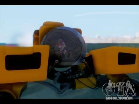 GTA 5 Kraken v1 para GTA San Andreas traseira esquerda vista