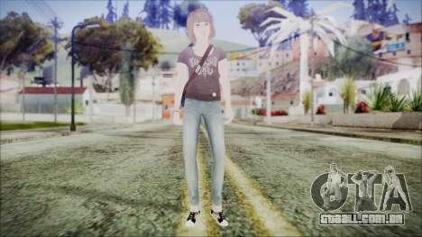Life is Strange Episode 5-1 Max para GTA San Andreas segunda tela