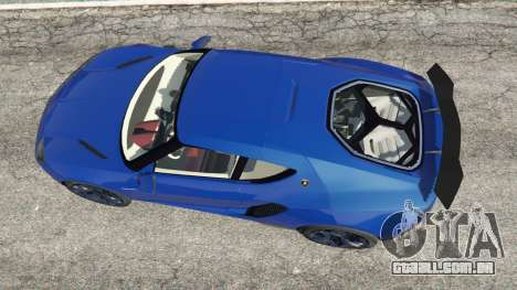 Lamborghini Asterion 2015 para GTA 5