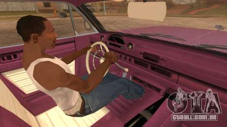 GTA 5 Declasse Clean Voodoo para GTA San Andreas traseira esquerda vista