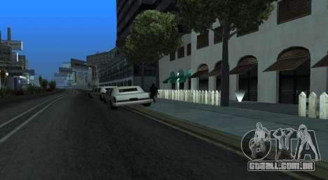 Italian bar Gangstaro in Dos Santos para GTA San Andreas terceira tela