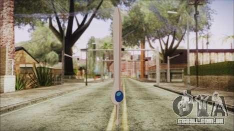 Finn Sword from Adventure Time para GTA San Andreas segunda tela