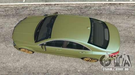 GTA 5 Mercedes-Benz CLS 63 AMG 2015 voltar vista