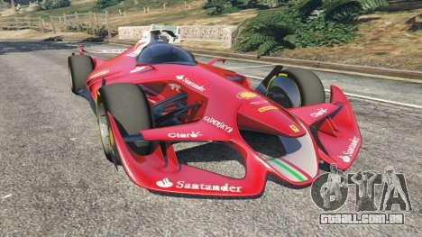 Ferrari F1 Concept para GTA 5