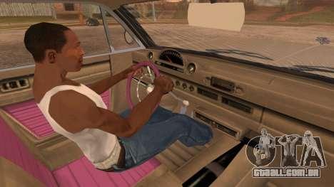 GTA 5 Declasse Clean Voodoo para GTA San Andreas vista direita
