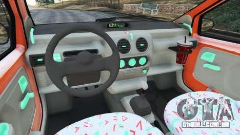 GTA 5 Renault Twingo I traseira direita vista lateral