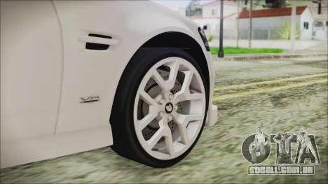 Holden Commodore VE Sportwagon 2012 para GTA San Andreas traseira esquerda vista