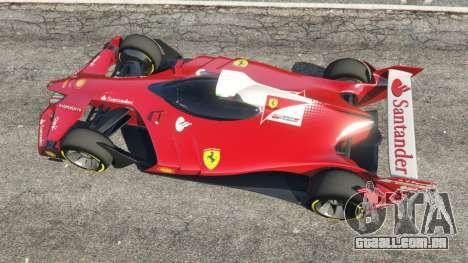 GTA 5 Ferrari F1 Concept voltar vista