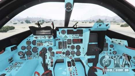 GTA 5 Su-24M quinta imagem de tela