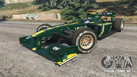 GTA 5 Lotus T127 vista lateral direita